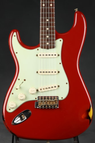 2009 Fender® Custom Shop 1960 Relic® Stratocaster® Lefty - Dakota Red Over