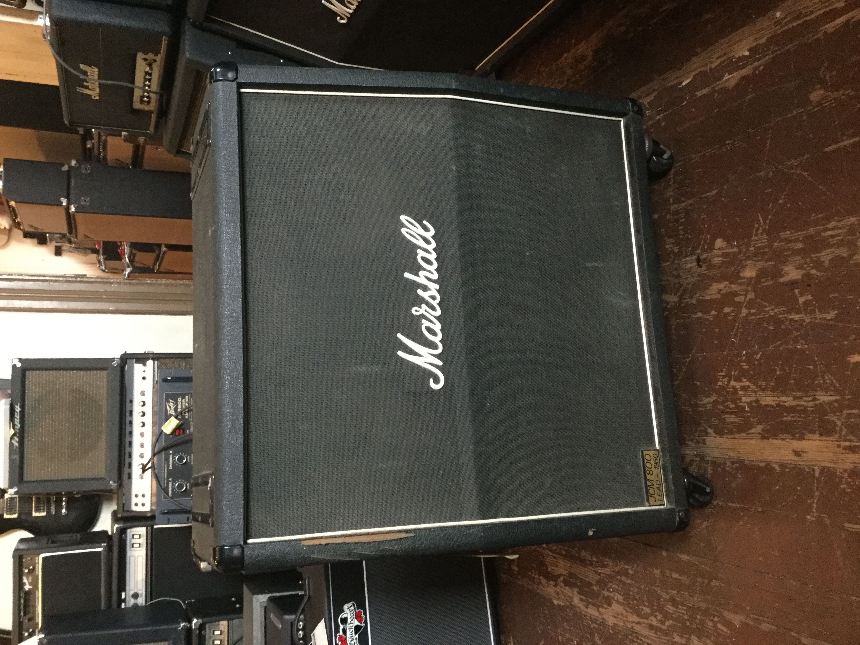 Marshall Model 1960A JCM 800 Cabinet > Amps & Preamps | Mikes ...