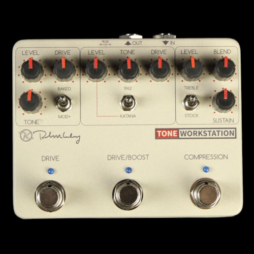 Keeley Tone Workstation Overdrive and Compressor Effect Pedal