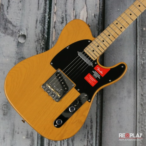 Fender® American Professional Telecaster® (Butterscotch Blonde)