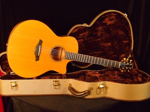 2007 R.Taylor Style 1 Flame Maple, Western Cedar Top, Rosewood bound