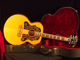 1997 Gibson Ron Wood Custom Shop Signature J-200