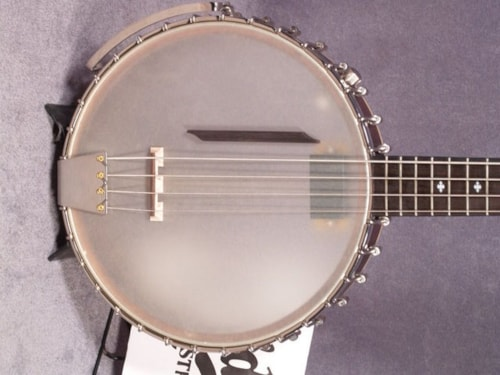 2017 Gold Tone BB-400+ BANJO BASS WITH PICKUP & CASE