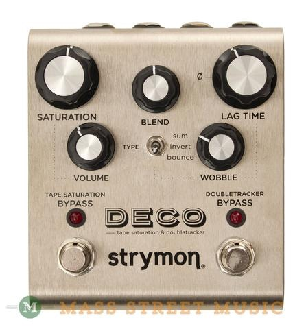 Strymon Strymon Deco™ Tape Saturation & Doubletracker Pedal