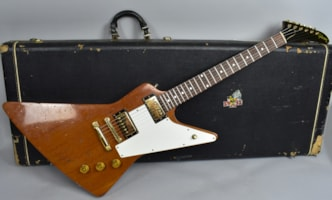 1976 Gibson Explorer Limited Edition Natural Vintage Electric