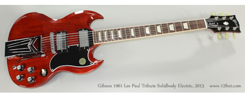 2013 Gibson 1961 Les Paul Tribute