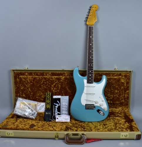 Fender®  Stratocaster® Eric Johnson Tropical Turquoise Electric Guita