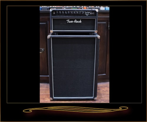 Two-Rock Studio Pro Plus 22 Head and 2x12 Cabinet Black > Amps ...