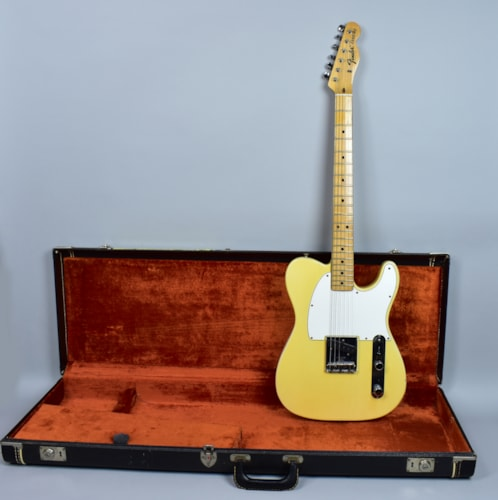 1969 Fender® Vintage Esquire Rare See-Thru Blonde Electric Guitar w/OHSC