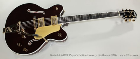 2016 Gretsch® G6122T Player's Edition Country Gentleman