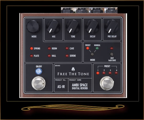 Free The Tone AS-1R Ambi Space Reverb