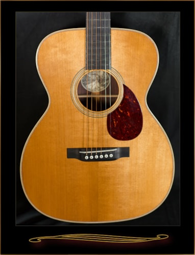 Collings OM2HT with Torrefied Adirondack Spruce Top