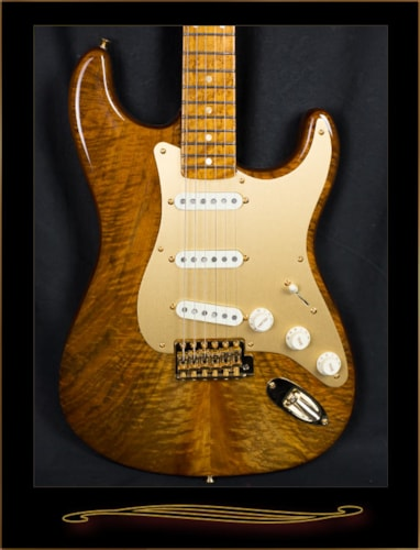 Fender® Custom Shop Artisan Claro Walnut Stratocaster®