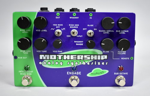 Pigtronix Mothership Analog Synthesize Guitar Pedal