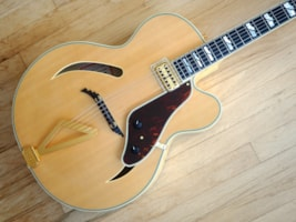 2012 Gretsch® G6040MCSS Synchromatic Archtop Flame Maple w/ Filt