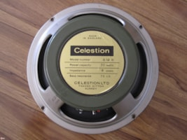 1970 CELESTION MARSHALL T1234 8Ω G12H30 PULSONIC 102/3 CONE
