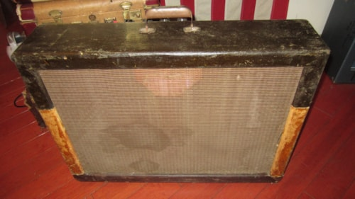 "1956 Gibson GA-200 Combo Amp Twin 12"" Speakers"