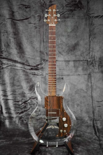 1970 Dan Armstrong Lucite Guitar w/3 interchangeable pickups