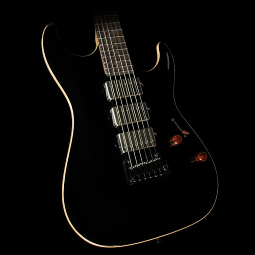 Suhr Standard Carve Top Roasted Maple Neck Electric Guitar Gloss Black