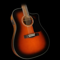 Fender® Used Fender® CD-60CE Acoustic/Electric Guitar Sunbu