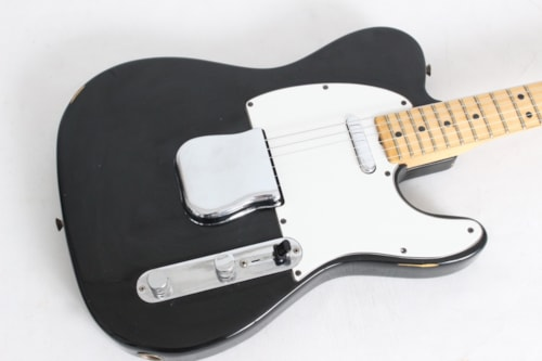 1978 Fender Telecaster Black w/case - All original -