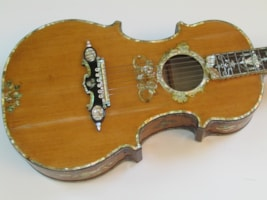 1930 Hand Made  Ornate Flattop Acoustic