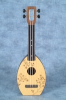 2017 MAGIC FLUKE COMPANY FLEA UKULELE, SOPRANO, CHERRY BLOSSO