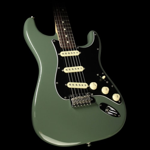 Fender® American Professional Stratocaster® Electric Guitar Antique Olive