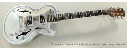 2000 Allstrummr Thinline Steel Body Electric