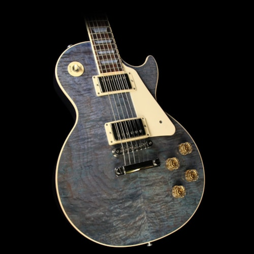 Gibson Used 2015 Gibson Les Paul Traditional Electric Guitar Ocean Blue