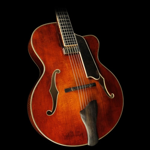 EASTMAN AR905CE-CW Archtop Electric Guitar Antique Varnish