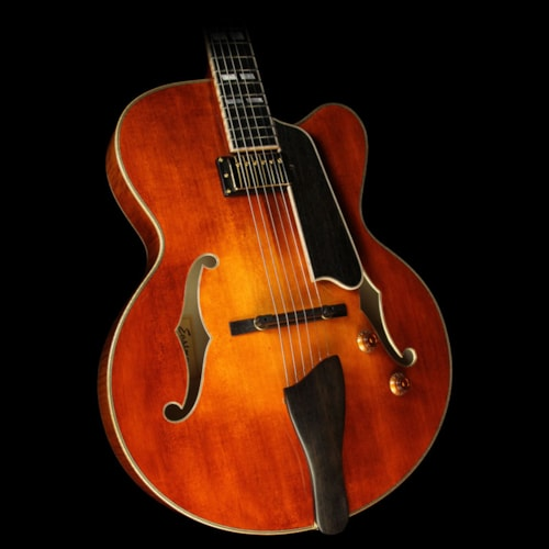 EASTMAN AR580CE-HB CW Archtop Electric Guitar Honeyburst