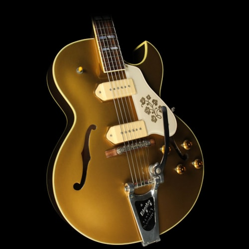 Gibson Used 2013 Gibson Memphis ES-295 Hollowbody Electric Guitar All Gold