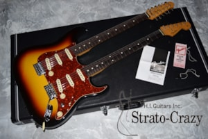 2012 Fender Japan Double Neck Stratocaster