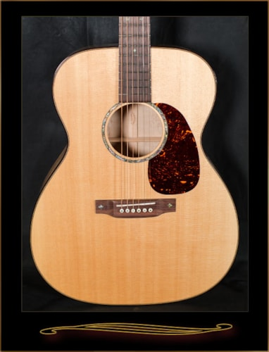 Martin Custom Shop 0000-14 Fret Birdseye Maple