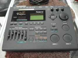 2010 Roland  TD 10 sound Module TDW 1 expanded