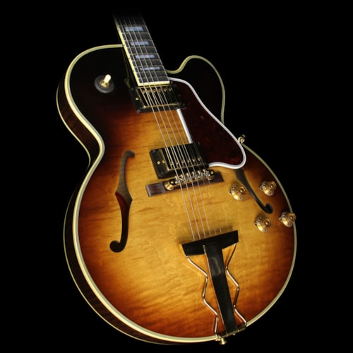 Gibson Used 2016 Gibson Memphis ES-275 Figured Electric Guitar Montreux Burst
