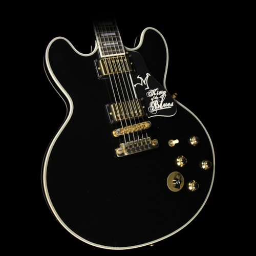 Gibson Used Gibson Lucille King of the Blues ES-355 Limited Edition Electric Guitar Ebony