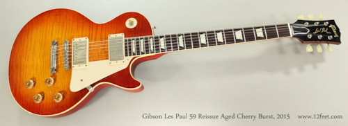 2015 Gibson Les Paul 1959 Reissue
