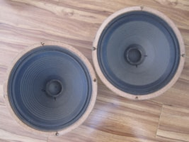 1972 VINTAGE CELESTION G12H30 T1534 SPEAKERS