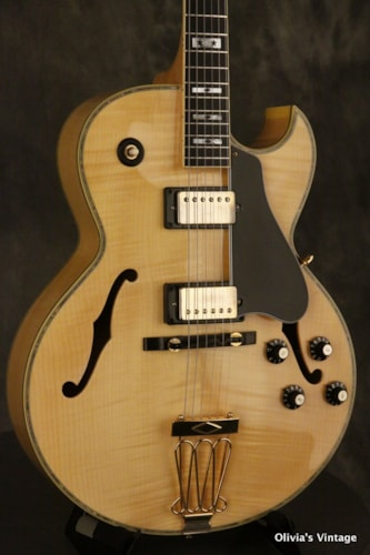 Ibanez 2616 electric archtop Jazz guitar w/abalone + star in