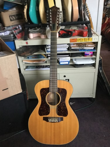 1970 Guild® F112 12-String Special Ordered Left Handed Acoustic