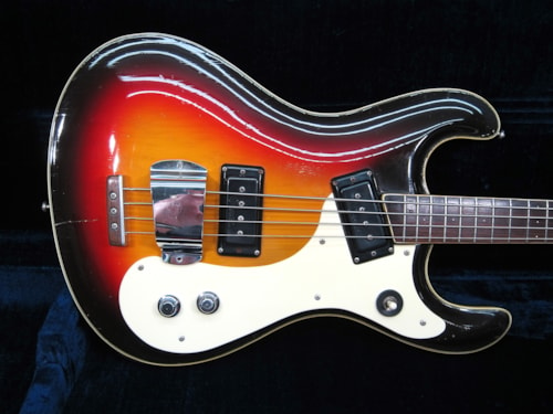 1963 Mosrite Side Jack  Ventures Mark I Bass