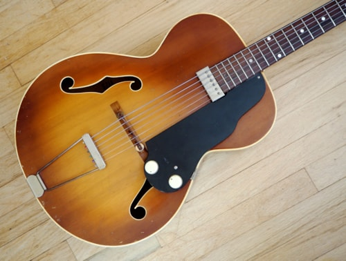 1952 National Dynamic Model 1125 Vintage Archtop Electric Guitar USA Valco
