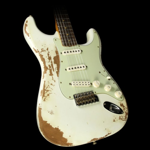 Fender Custom Shop Used 60s Stratocaster Heavy Relic Roasted Mahogany Electric Guitar