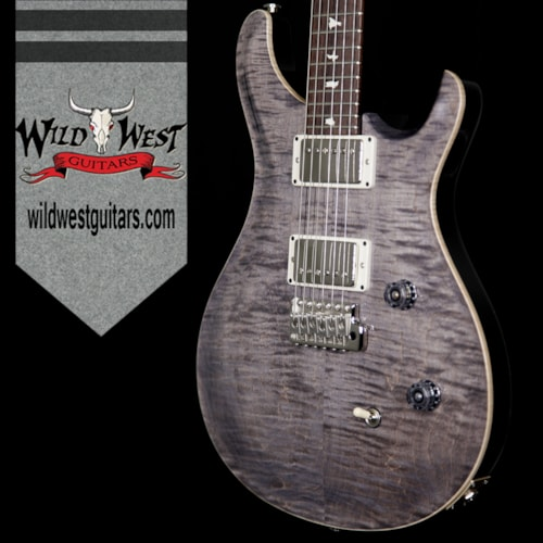 2017 PRS - Paul Reed Smith PRS Wild West Guitars Special Run CE 24 Flame Maple Top and 57/08 PU Grey Black 239020