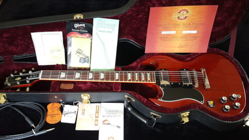 2005 Gibson LEFTY Les Paul SG Standard Authentic