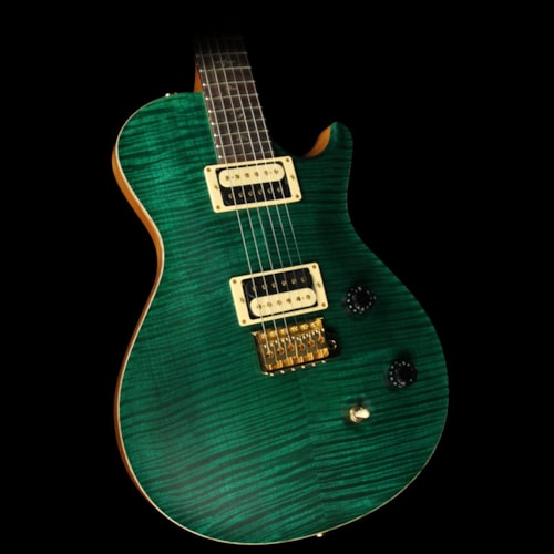 Paul Reed Smith Used 2007 Paul Reed Smith Singlecut Trem Artist Package Electric Guitar Emerald Green Satin