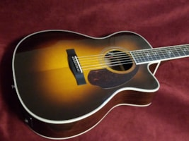 2016 Fender® Paramount PM-3 Deluxe Triple-0 Acoustic/Electric