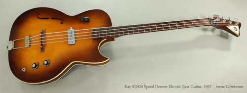 1957 Kay K5920 Speed Demon